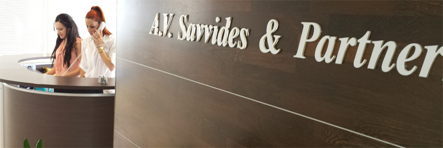 A. V. Savvides & Partners Ltd, is a professional firm based in Limassol, Cyprus, offering audit, tax and advisory services.